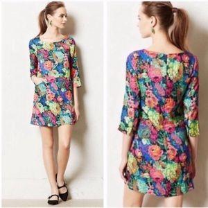 Anthro HD in Paris Tropicalist Floral Dress